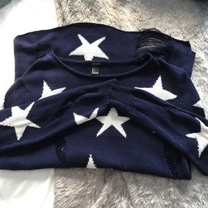 Forever21 distressed sweater